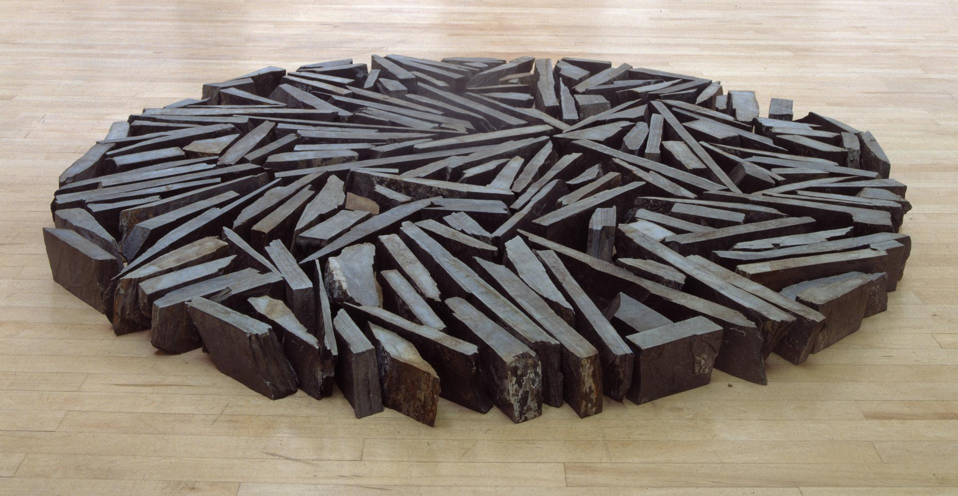 Richard Long, South Bank Circle 1991