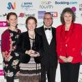 Thelma Hulbert Gallery THG wins silver award at South West Tourism Awards