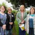 THG Volunteers in THG community garden