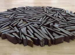 South Bank Circle, 1991. Richard Long
