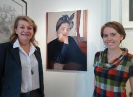 Artist receives Prize at Devon Art Gallery