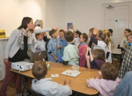 Devon School workshop at Thelma Hulbert Gallery