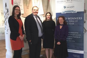 Beviss & Beckingsale solicitors - proud sponsors of Present Makers 2017